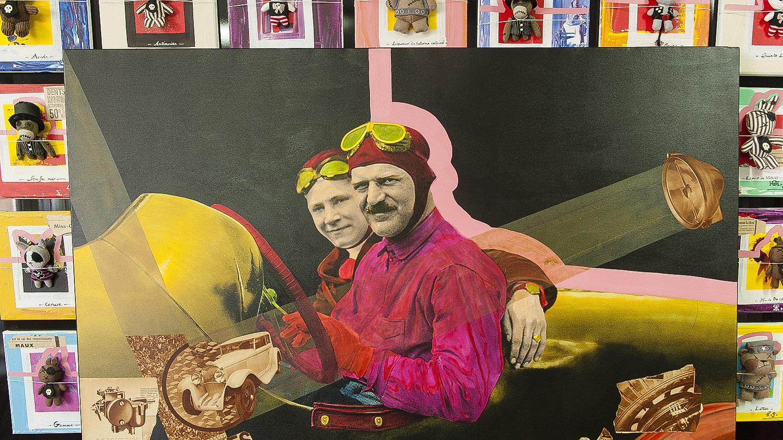 Cannes, Suquet des Artistes. Richard Ferri-Pisani, Werk. Foto: Hilke Maunder