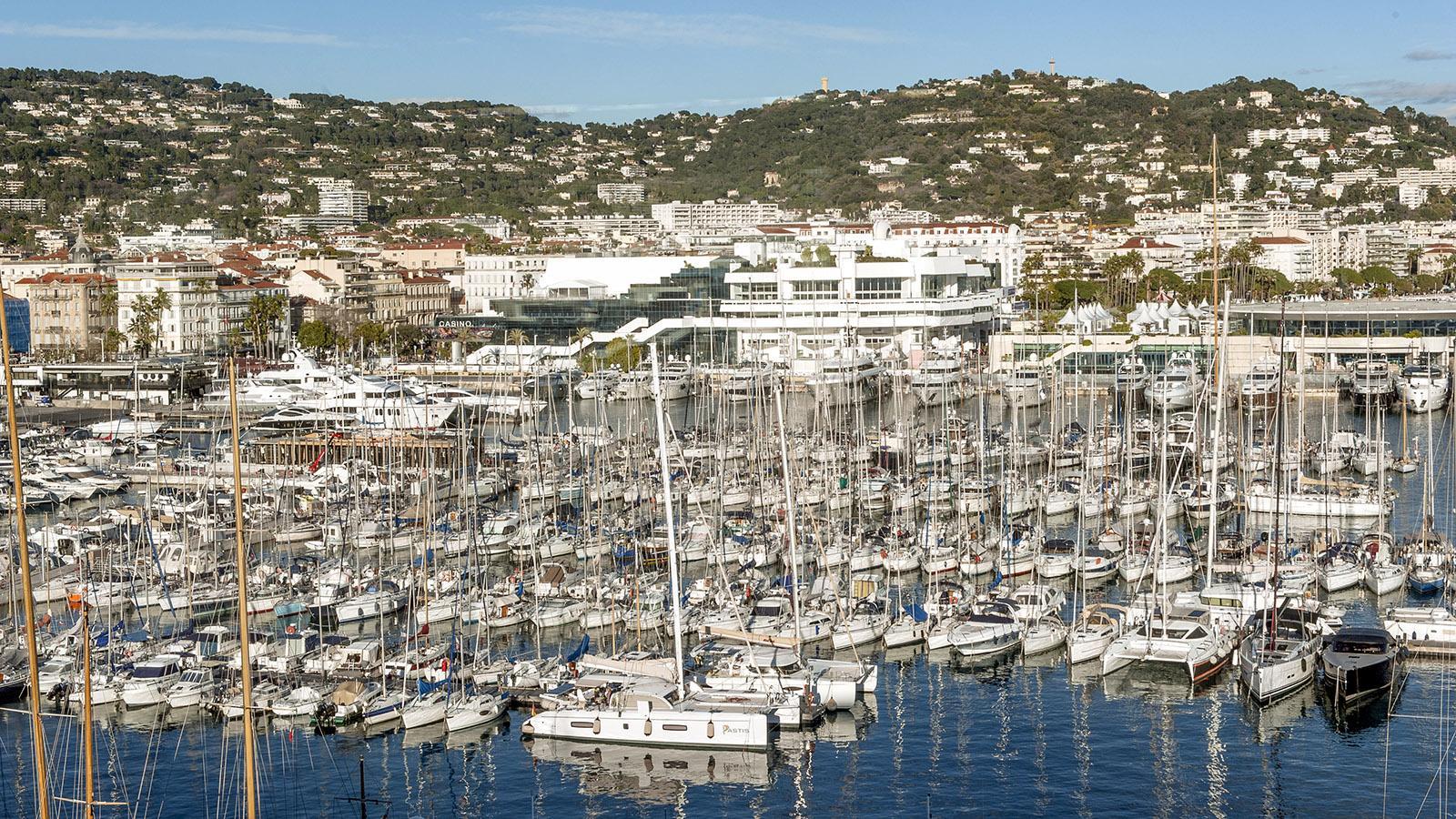Der Jachthafen von Cannes. Foto: Hilke Maunder