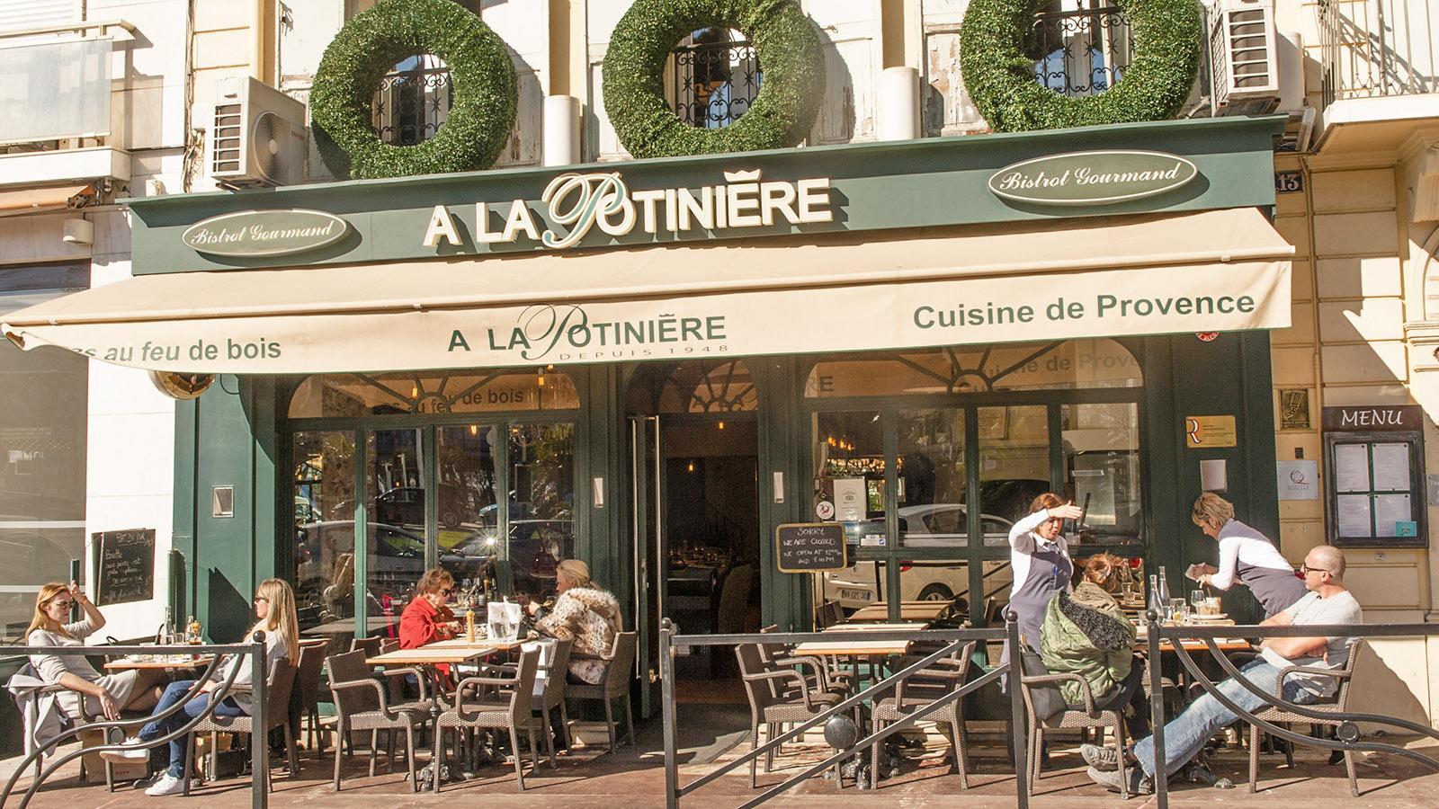 Cannes: La Potinière. Foto: Hilke Maunder