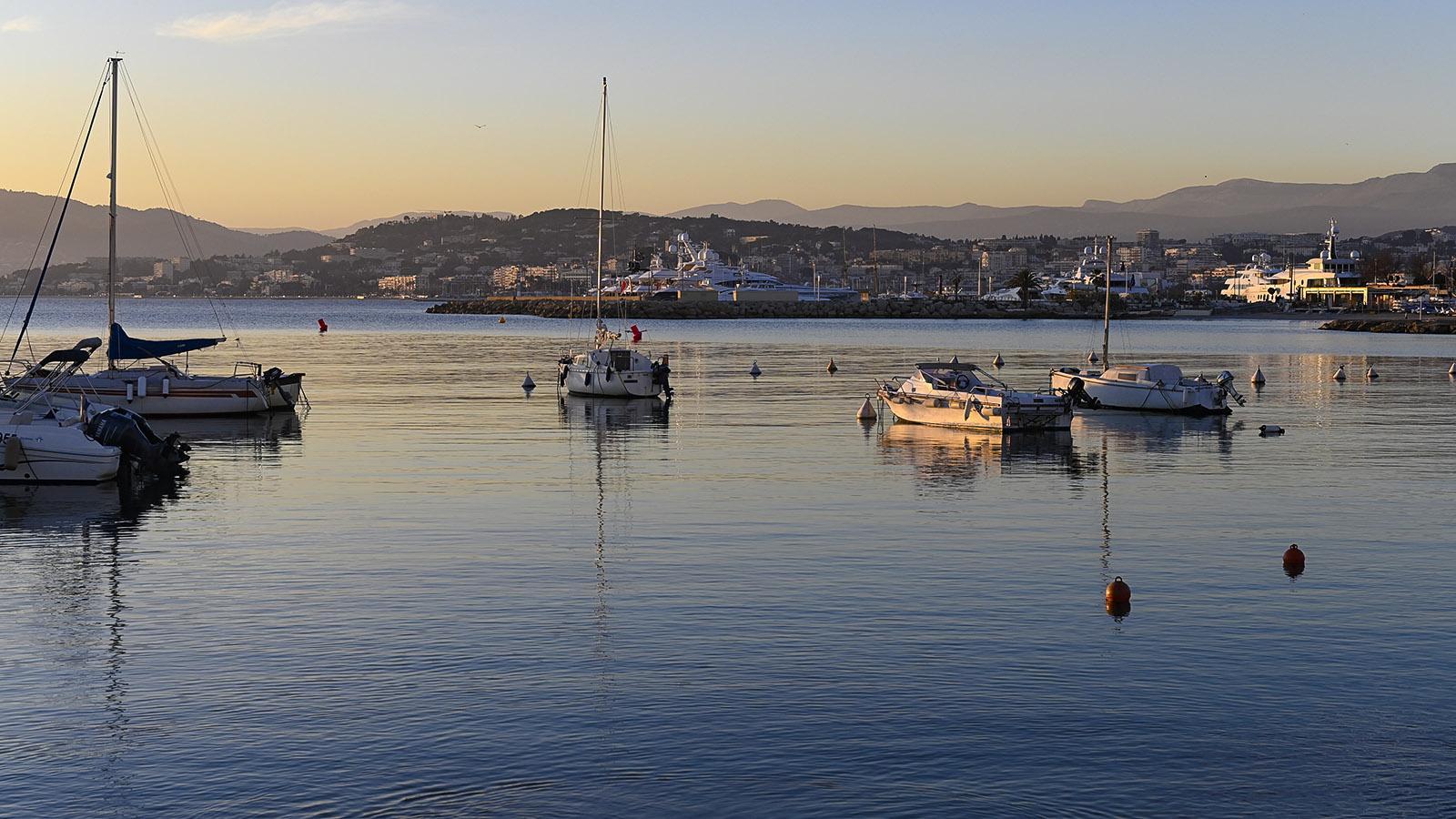 Cannes, Hafen beim Kasino. Foto: Hilke Maunder