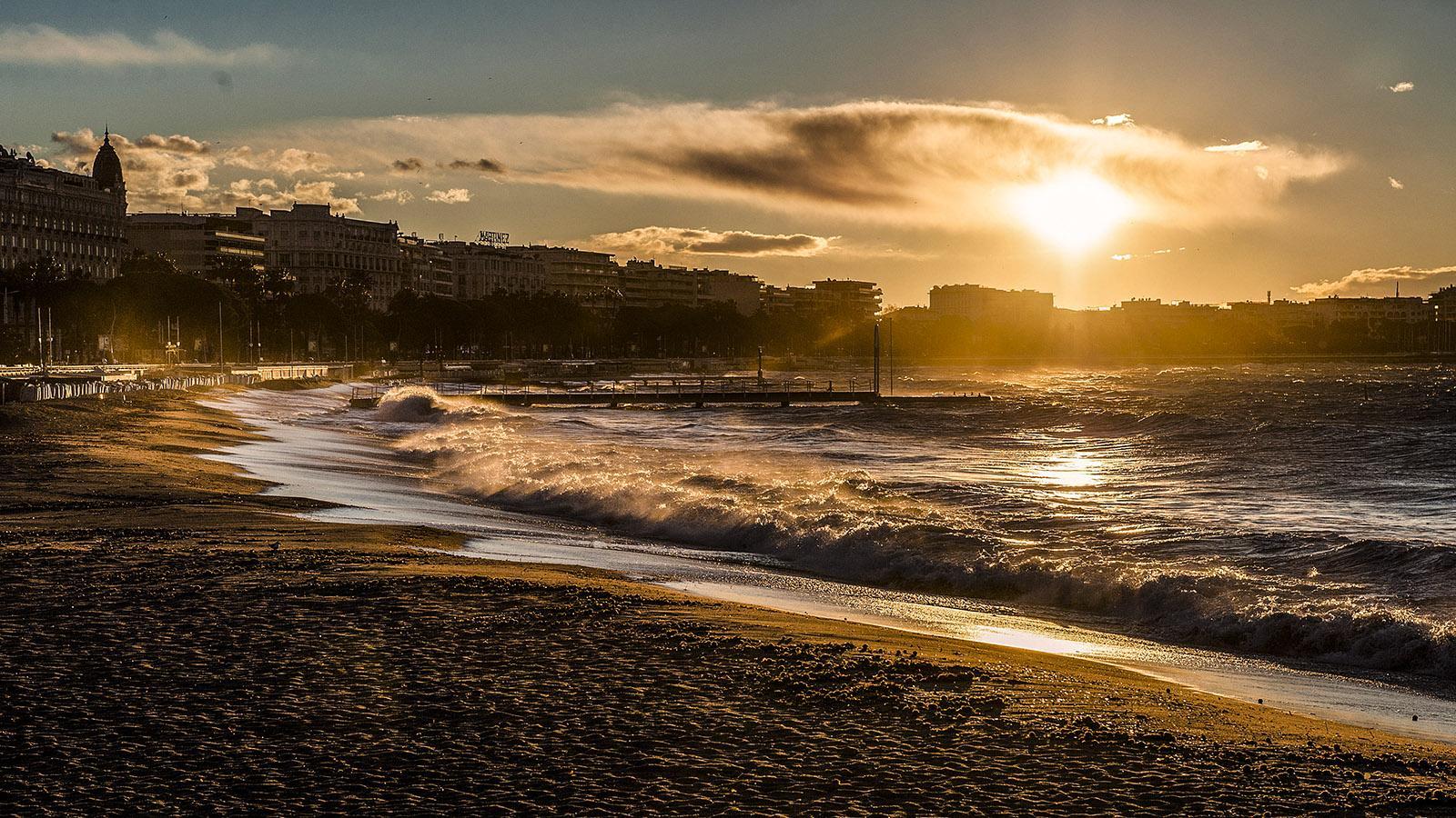 Der nächste schöne Tag beginnt in Cannes. Foto: Hilke Maunder