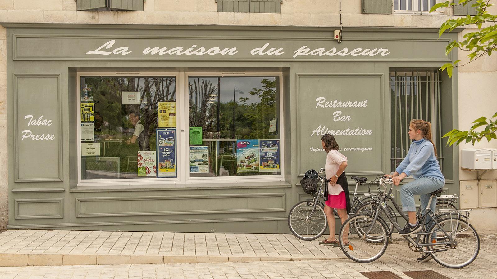 Bourg-Charente. La Maison des Passeurs. Foto: Hilke Maunder