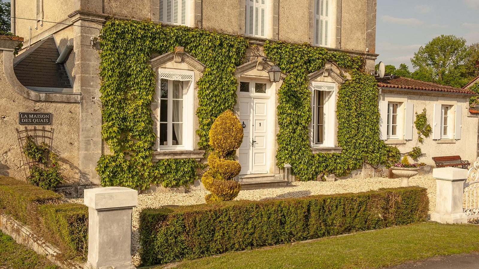 Die Maison des Quais von Châteauneuf-sur-Charente. Foto: Hilke Maunder