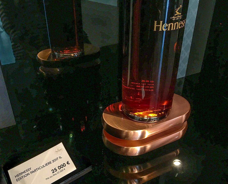 Cognac: 25.000 Euro soll dieser Cognac kosten. Foto: Hilke Maunder
