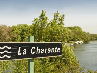 Die Charente bei Sireuil. Foto: Hilke Maunder