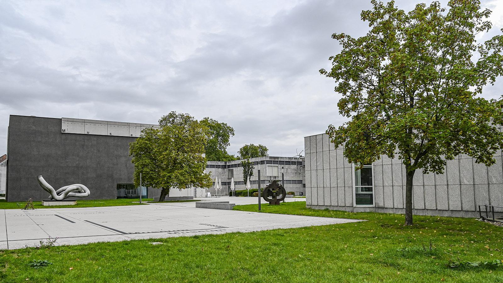 Saarbrücken: das Saarlandmuseum. Foto: Hilke Maunder