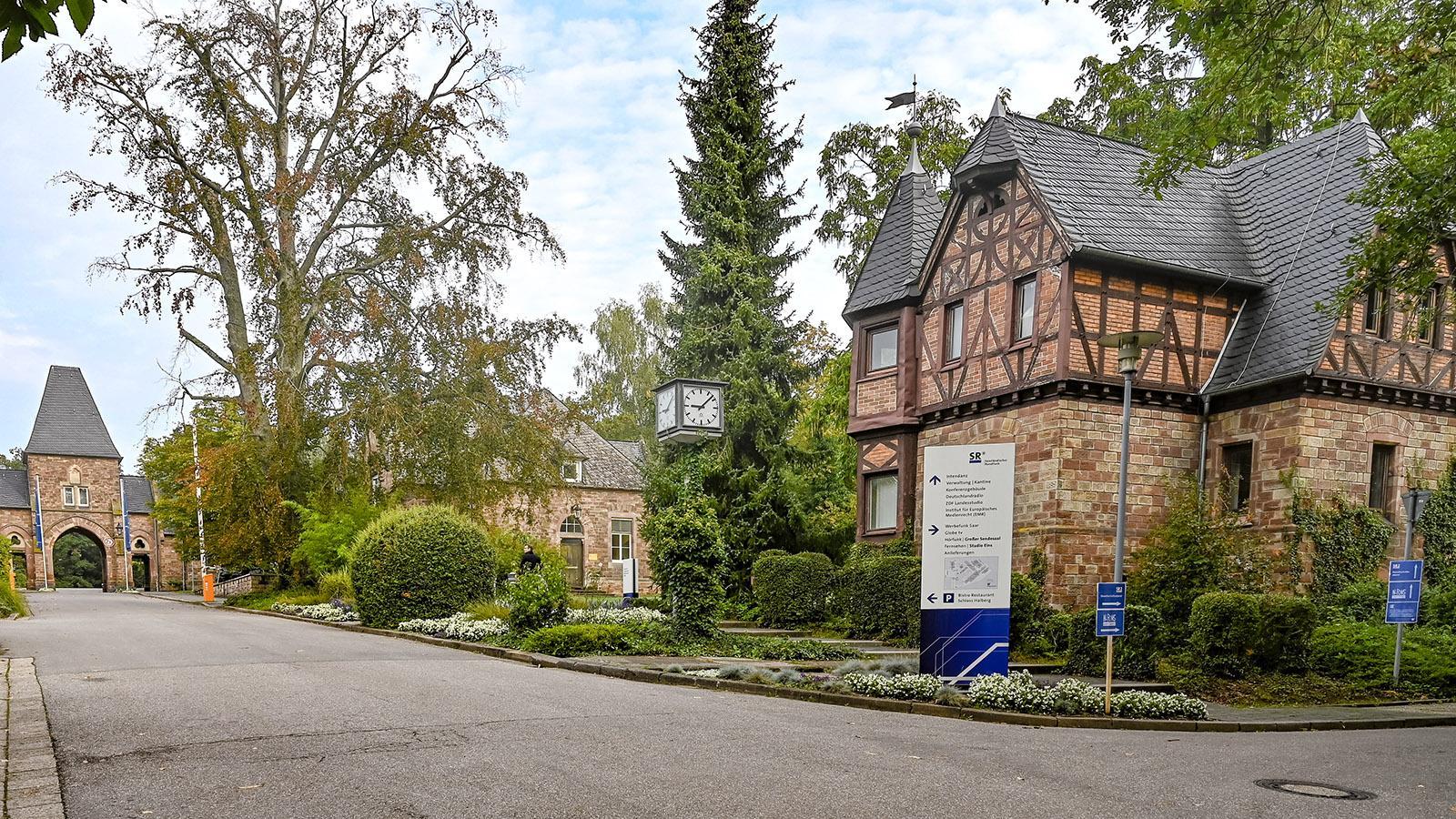 Der Saarländische Rundfunk auf dem Halberg. Foto: Hilke Maunder