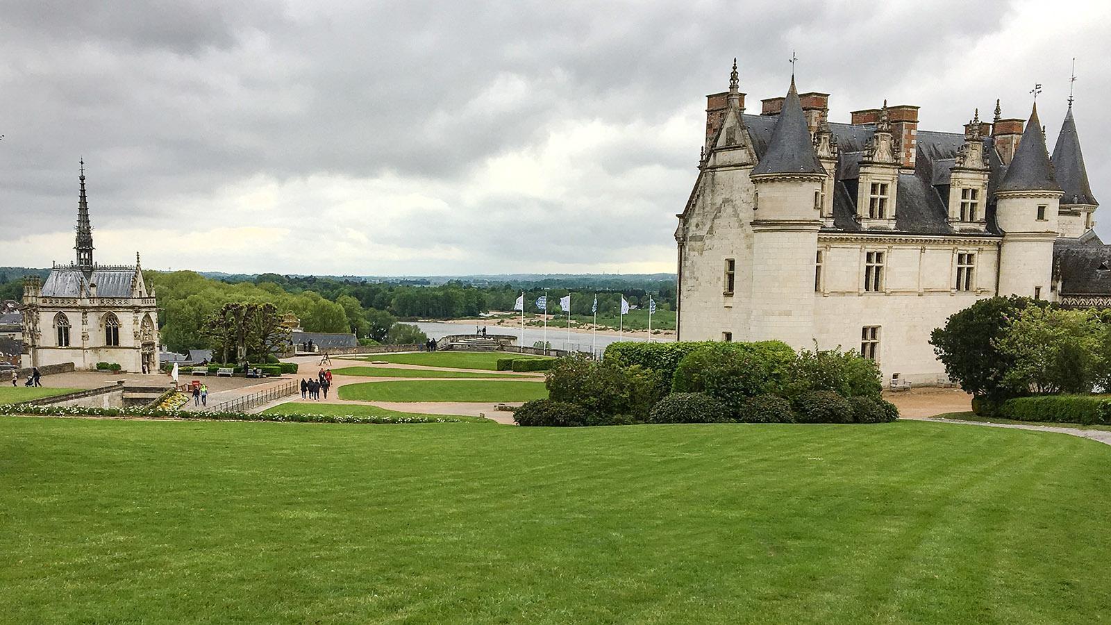 Loiretal der Schlösser: Amboise. Foto: Hilke Maunder