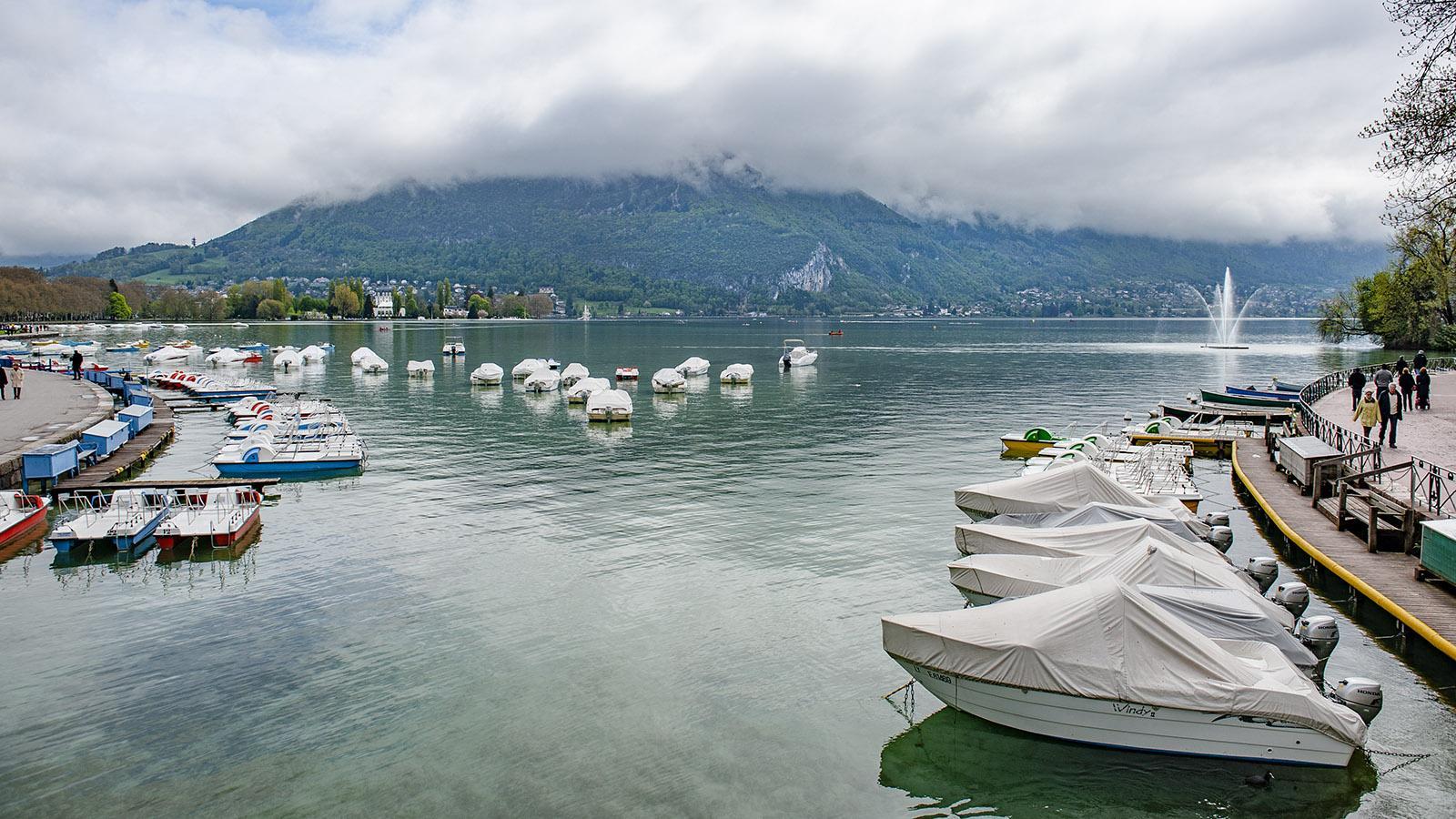 Der See von Annecy. Foto: Hilke Maunder