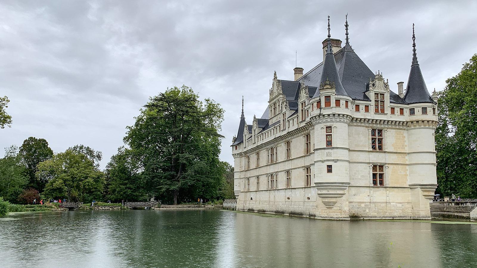 Schlösser der Loire: Azay-le-Rideau. Foto: Hilke Maunder