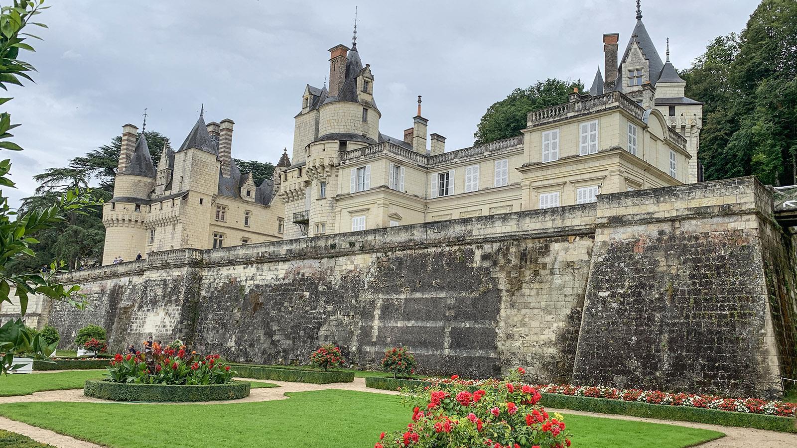 Schlösser der Loire. Wehrhaft: das Château von Ussé. Foto: Hilke Maunder
