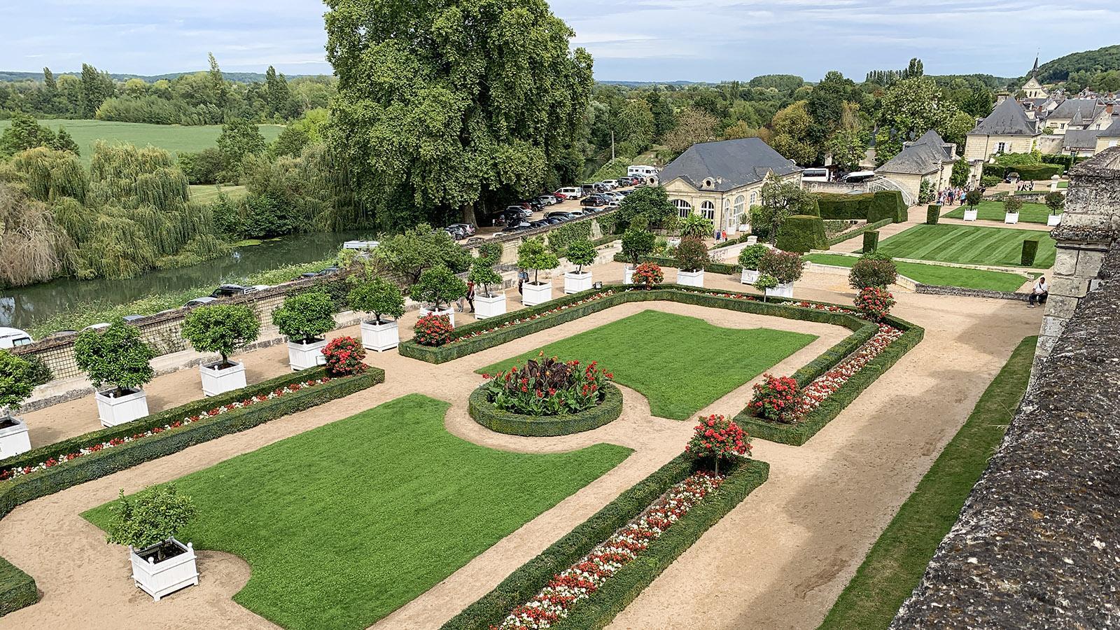 Schlösser der Loire: Château d'Ussé. Foto: Hilke Maunder