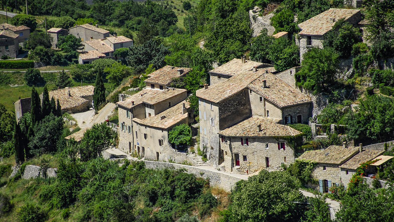 Dorf am Mont Ventoux. Foto: Hilke Maunder