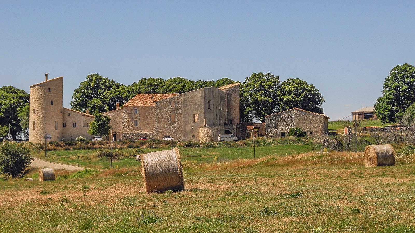 Der Lavendelhof Château de la Gabelle bietet auch Gästezimmer an. Foto: Hilke Maunder