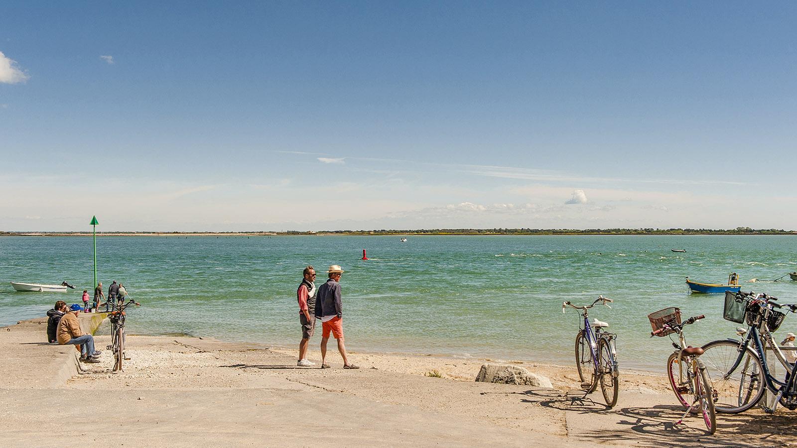 Île de Ré: der kleine Hafen von La Patache. Foto: Hilke Maunder
