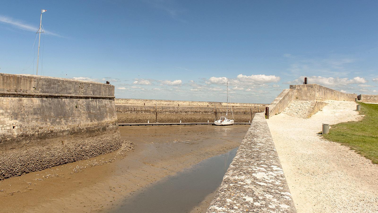 Île de Ré: Sainte-Marie-de-Ré. Im Herzen der Zitadelle. Foto: Hilke Maunder