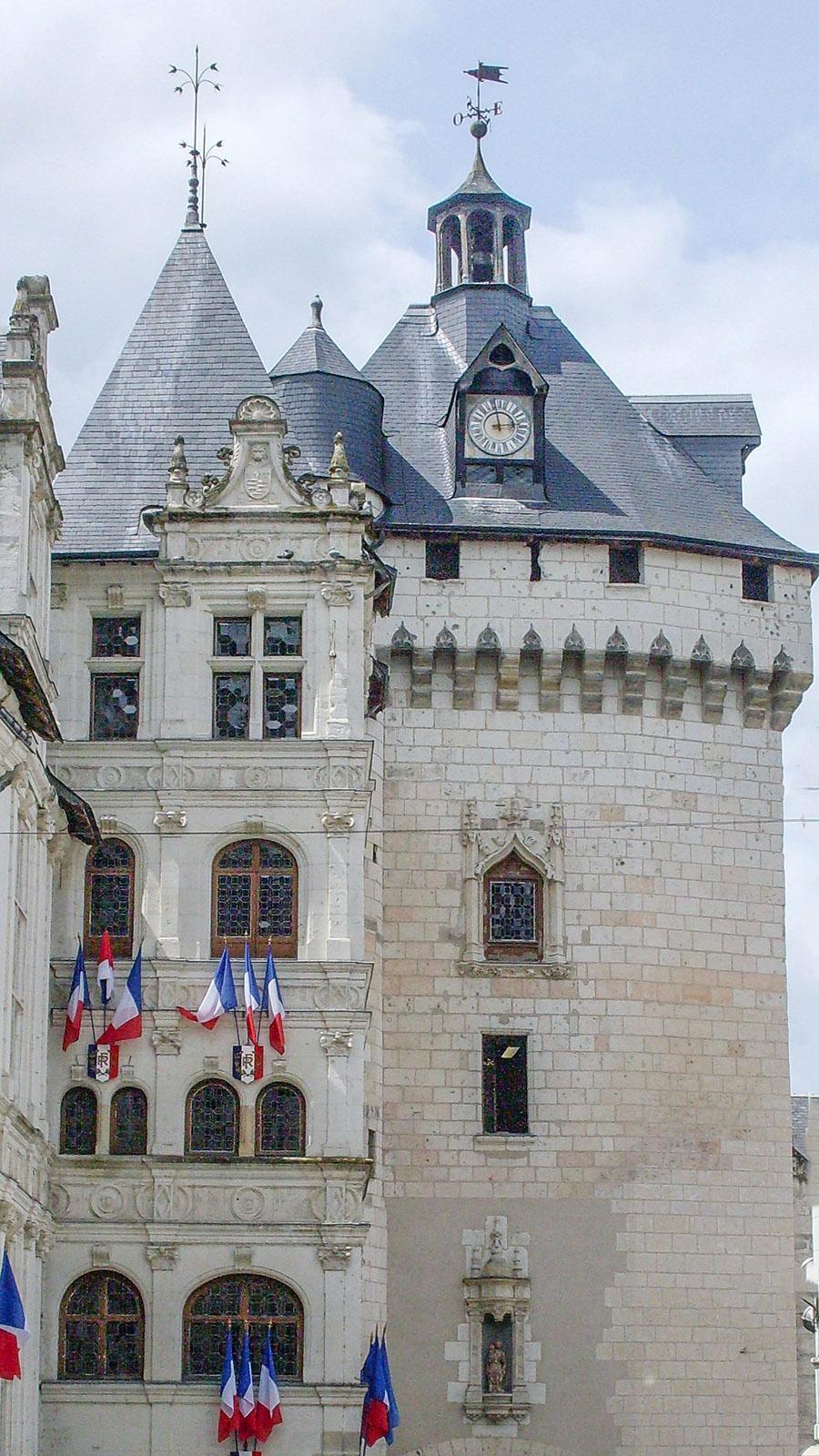 Loiretal der Schlösser: eine royale Cité: Loches. Foto: Hilke Maunder