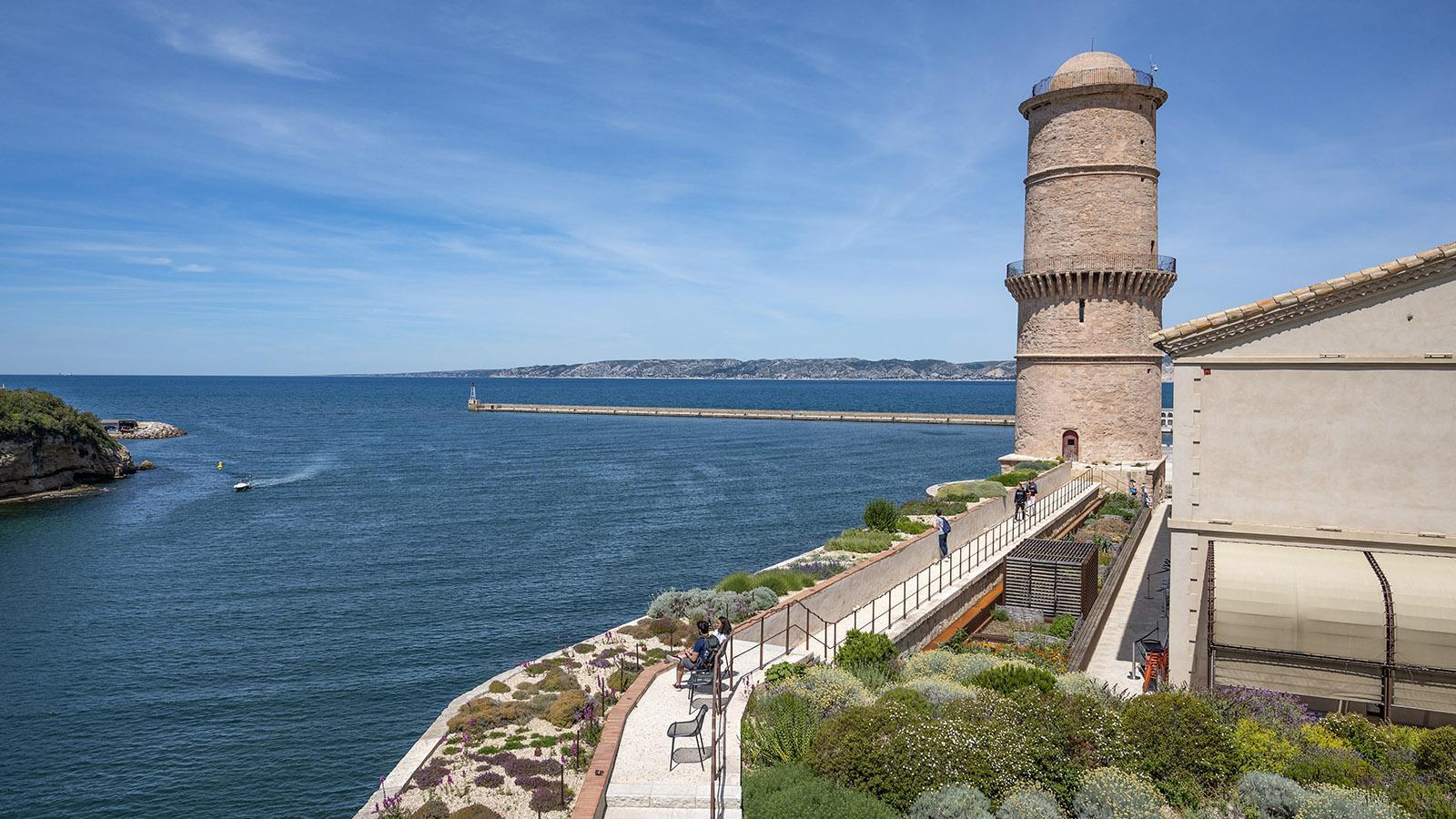 Der Jardin Méditerranéen des Fort Saint-Jean. Foto: Hilke Maundern des Fort Saint-Jean. Foto: Hilke Maunder