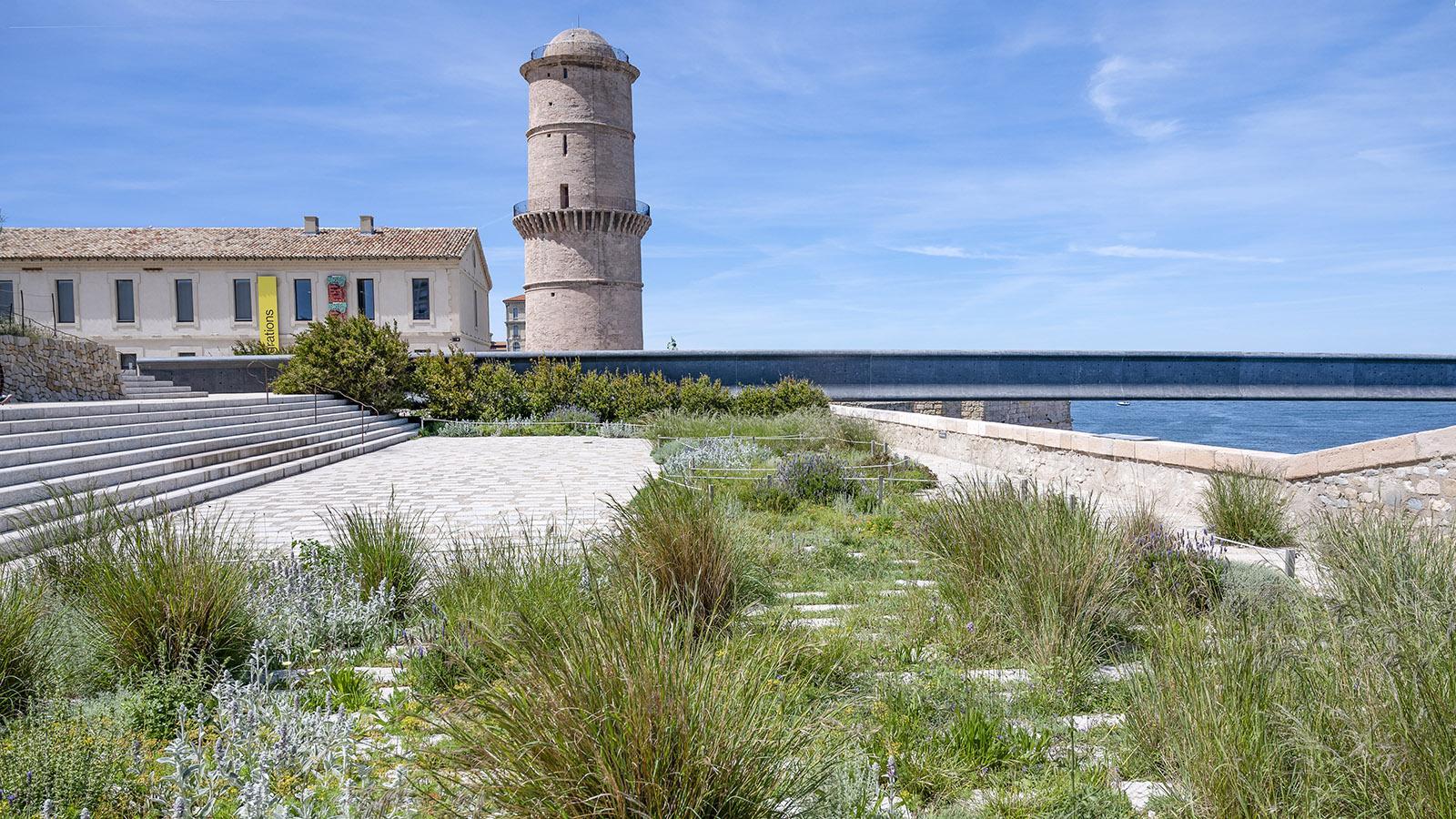 Der Jardin Méditerranéen des Fort Saint-Jean. Foto: Hilke Maunder