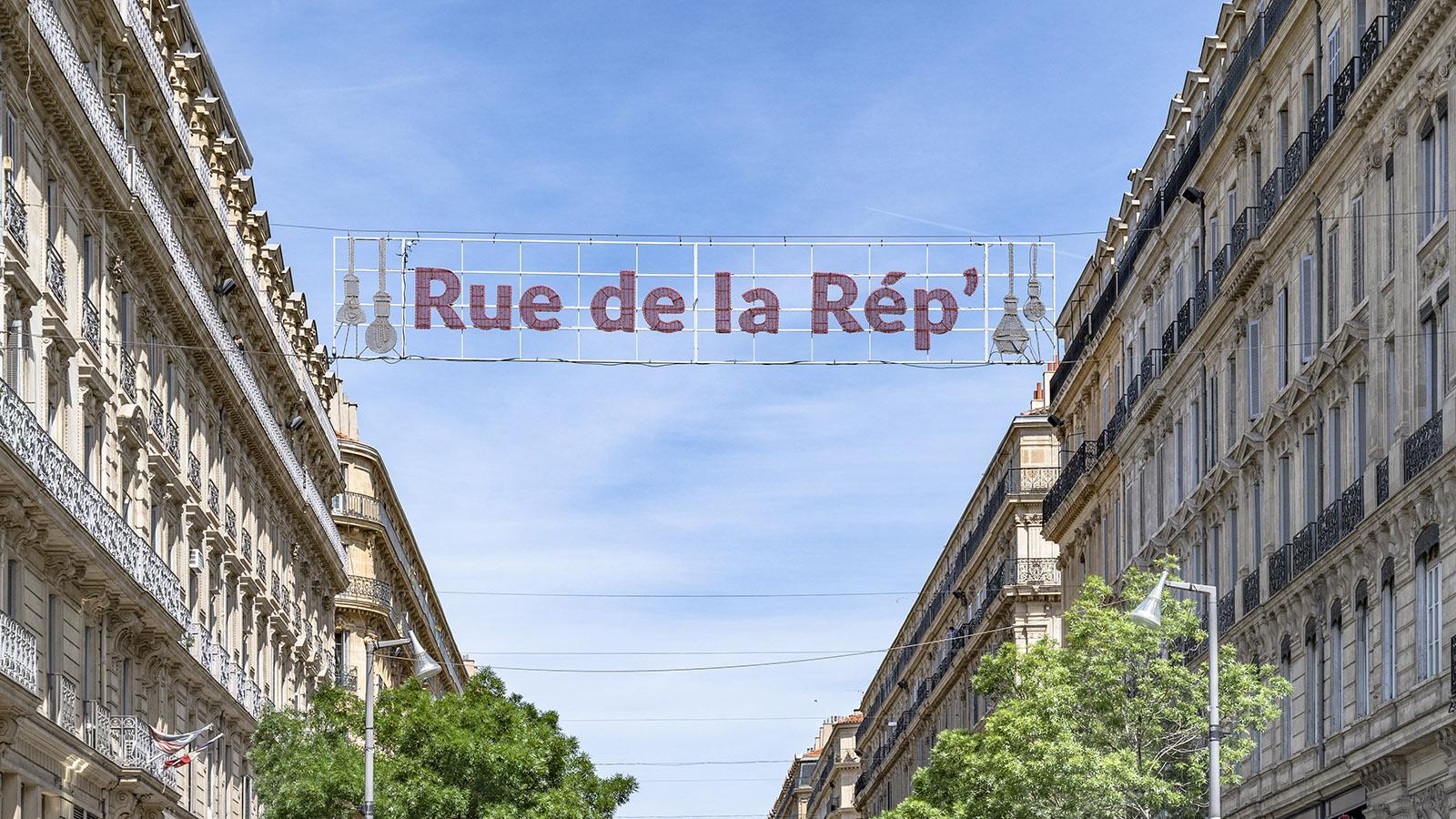 Marseille, Rue de la République. Foto: Hilke Maunder