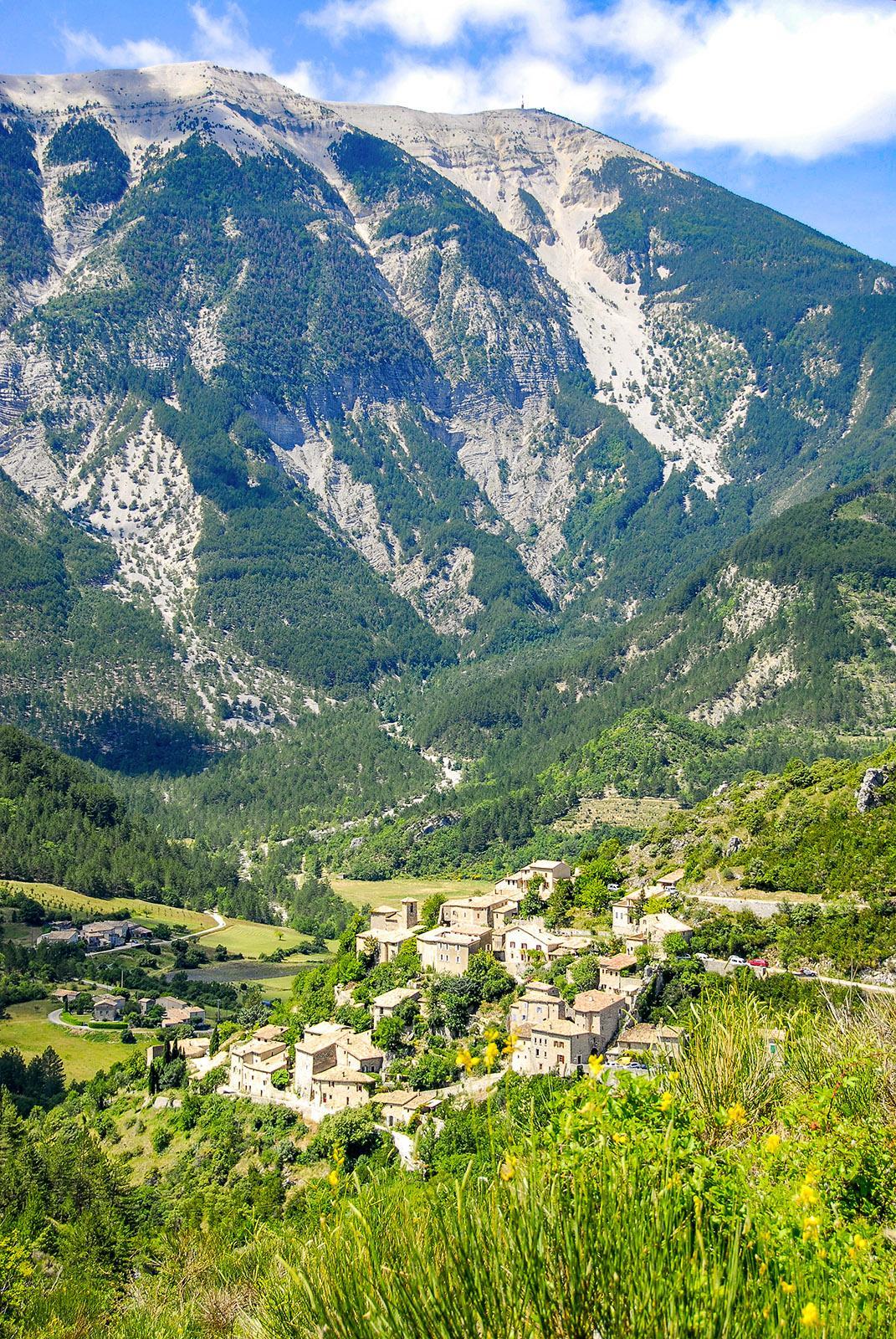Am Mont Ventoux. Foto: Hilke Maunder