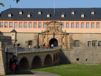 Erfurt: Die Zitadelle Petersberg. Foto: Hilke Maunder