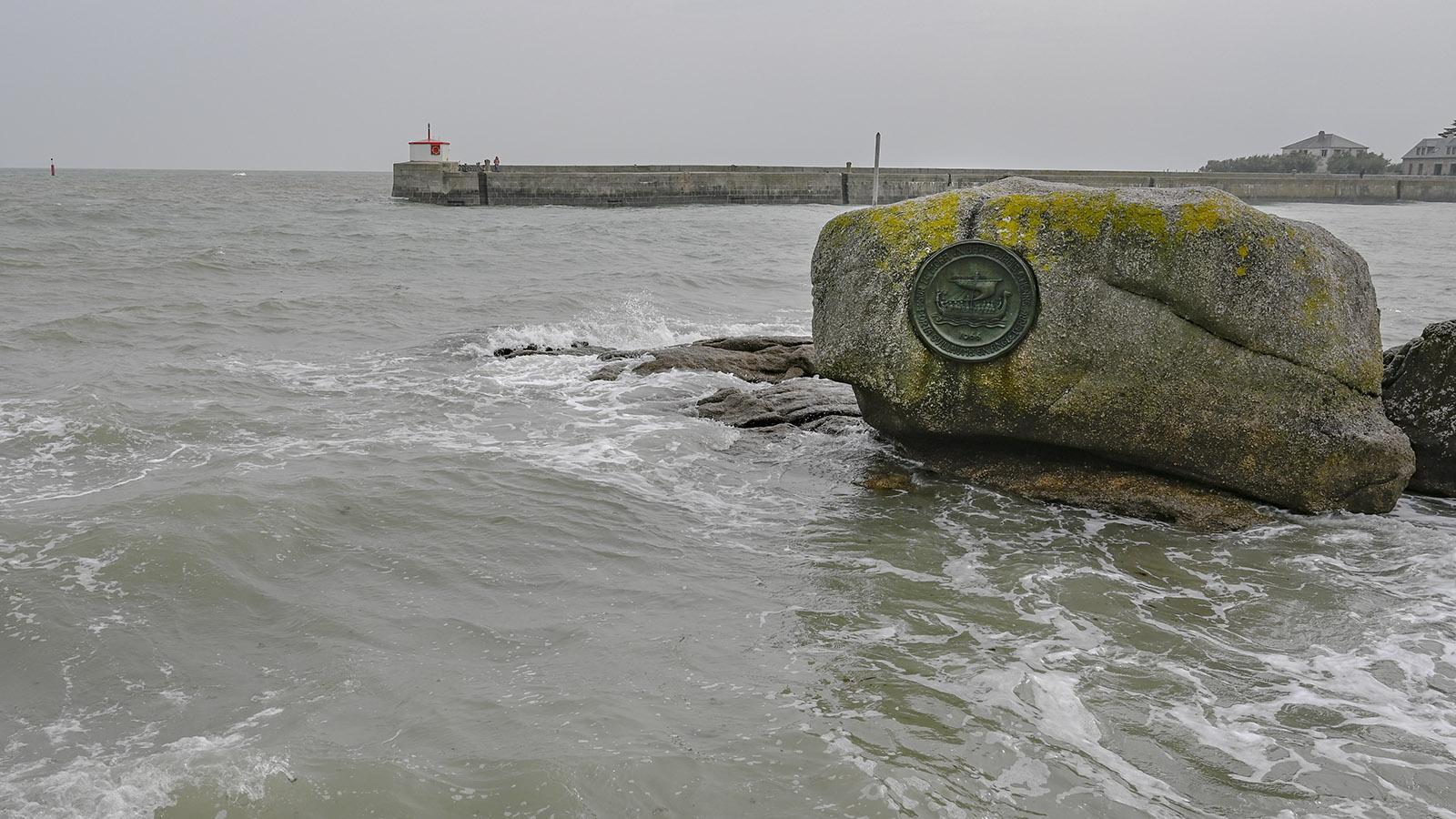 Cotentin, Barfleur, Erinnerung an 1066. Foto: Hilke Maunder