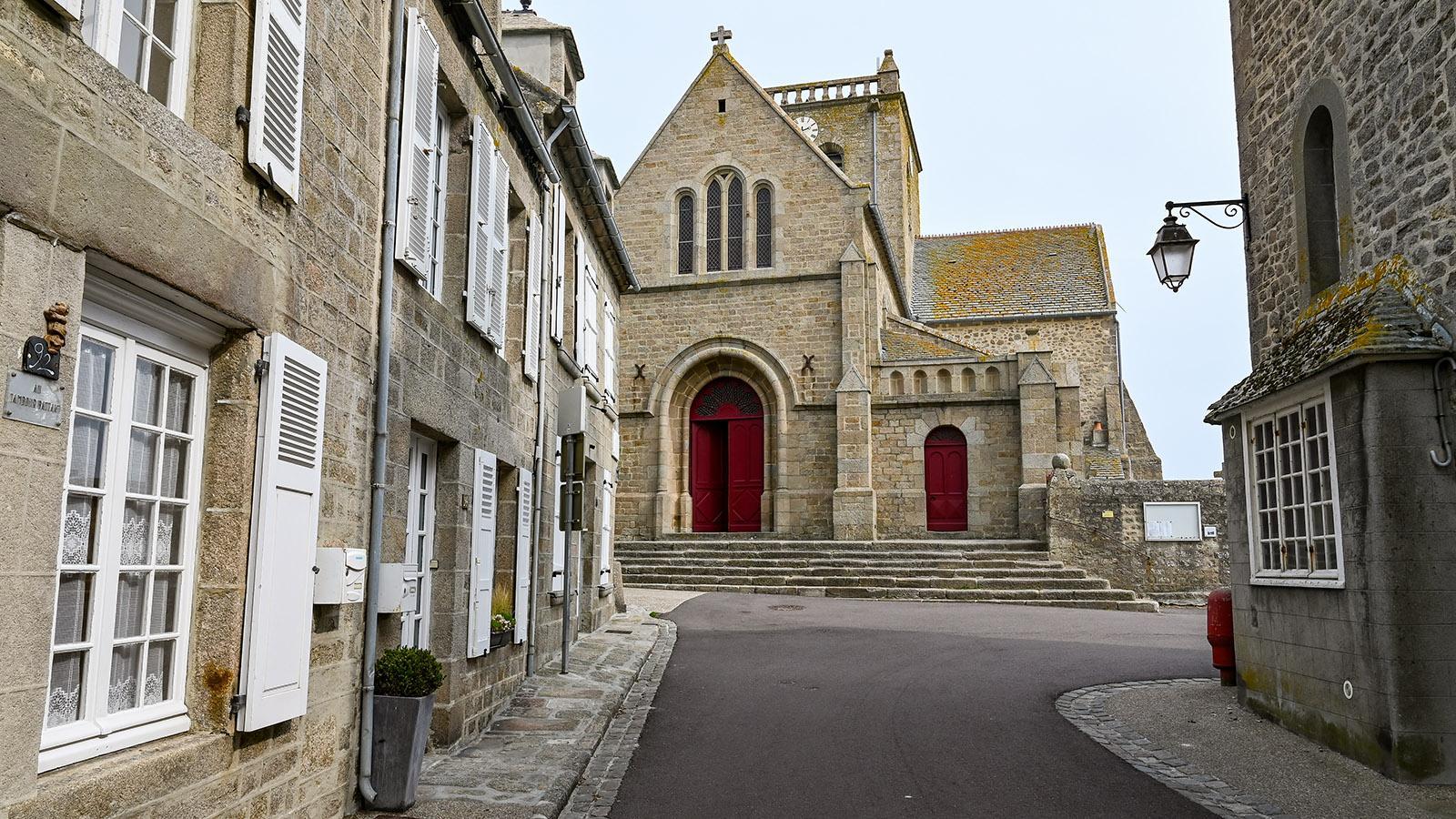 Die Kirche von Barfleur. Foto: Hilke Maunder