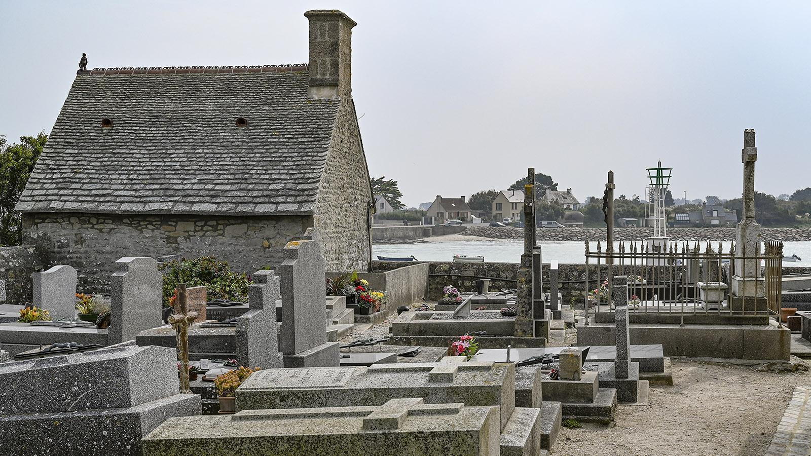 Der Friedhof von Barfleur. Foto: Hilke Maunder