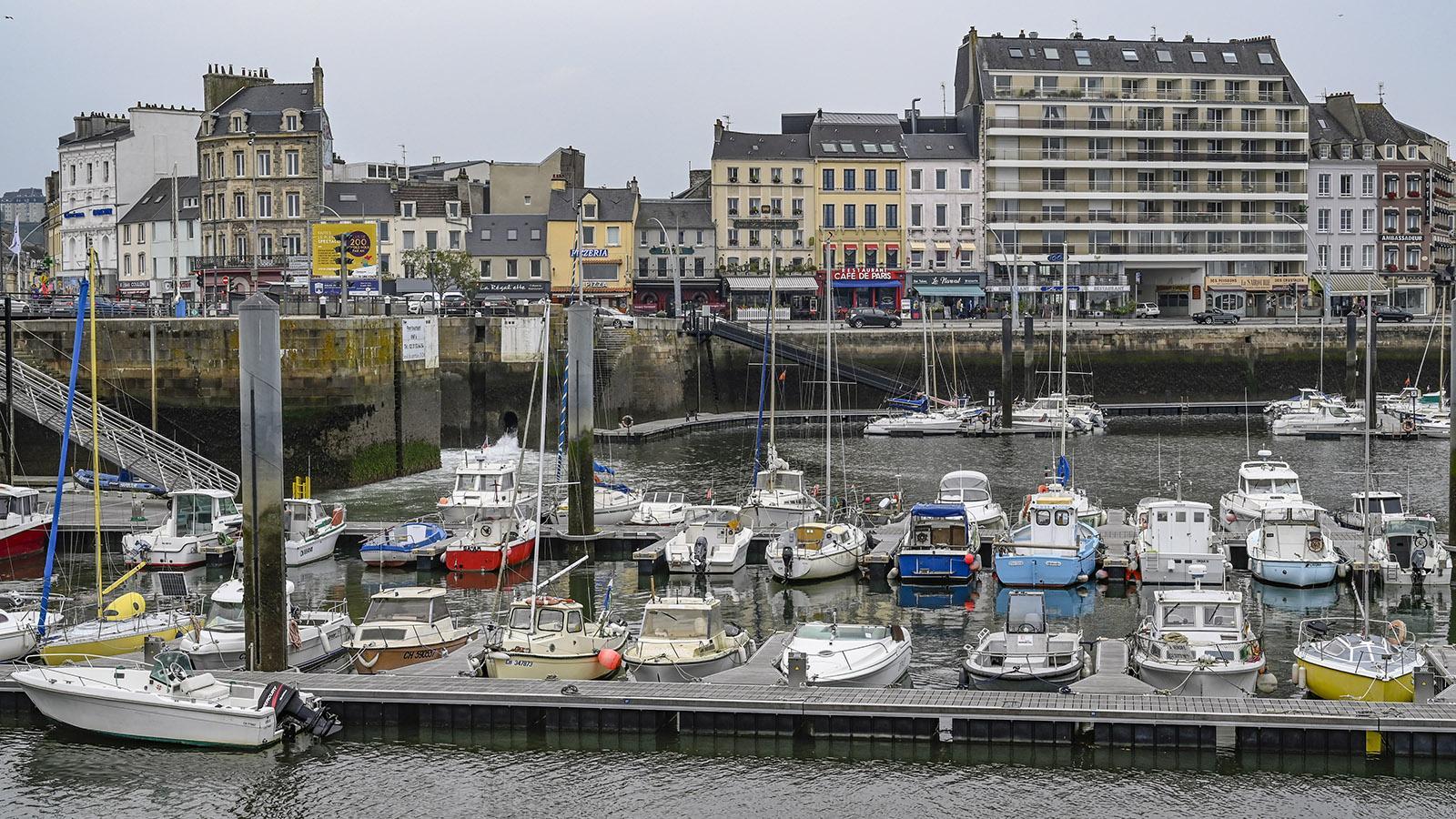 Der Hafen von Cherbourg. Foto: Hilke Maunder