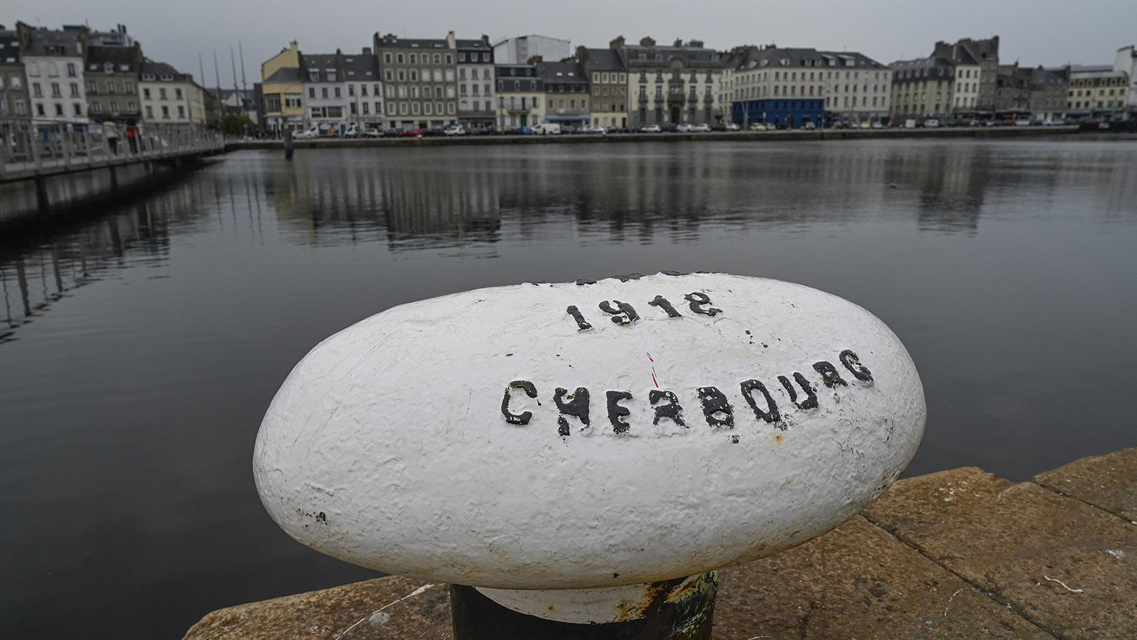Cotentin: Im Hafen von Cherbourg. Foto: Hilke Maunder