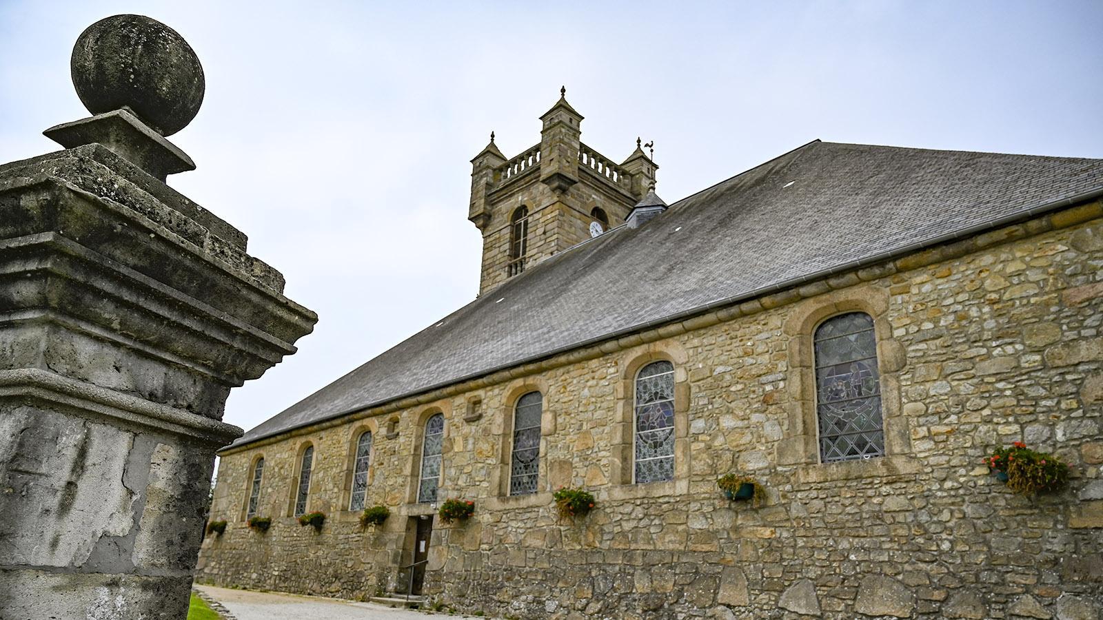 Cotentin: die Kirche von Saint-Pierre. Foto: Hilke Maunder