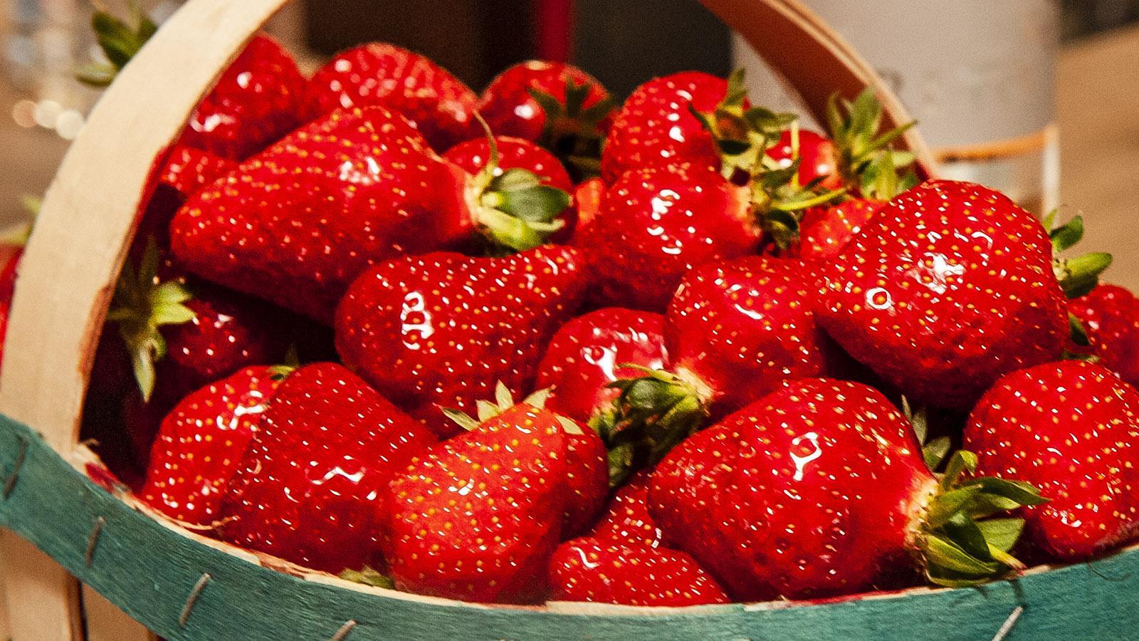 Erdbeeren: Sechs Sorten sind in Frankreich im Handel