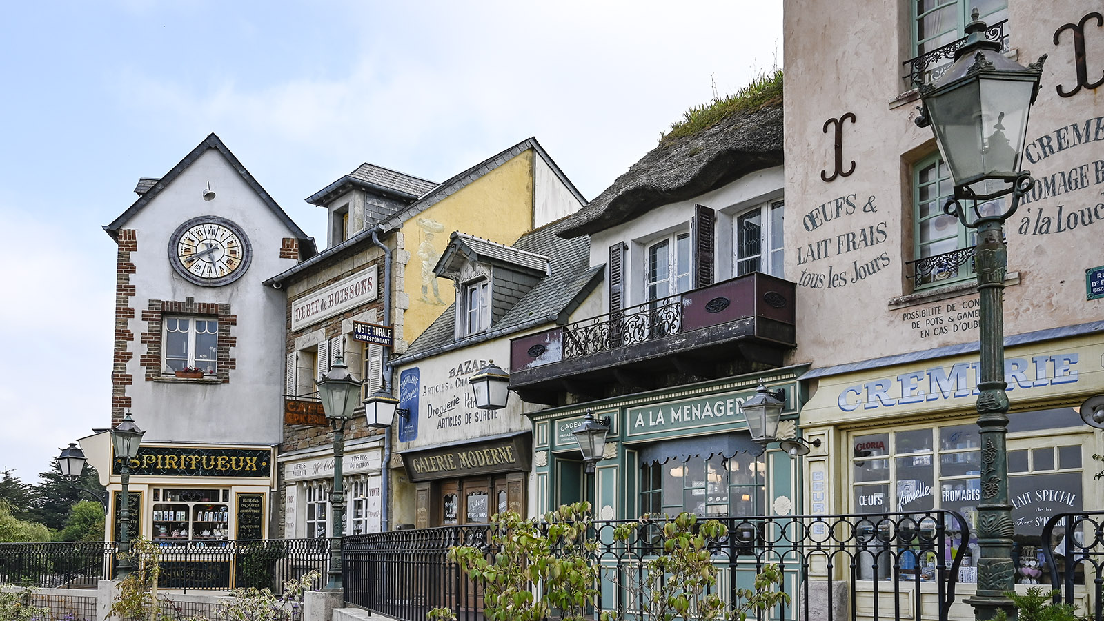 Neu gemacht auf alt: die Fassade der Maison du Biscuit. Foto: Hilke Maunder