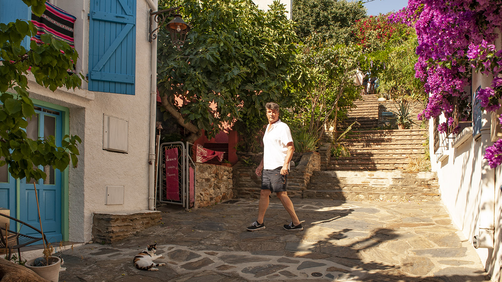 Yann Sola bummelt gerne durch das alte Banyuls. Foto: Hilke Maunder