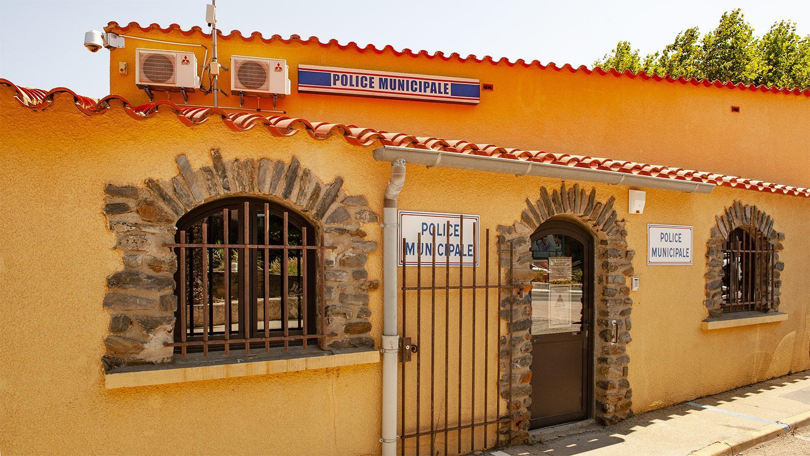 Die Polizeiwache von Banyuls. Foto: Hilke Maunder