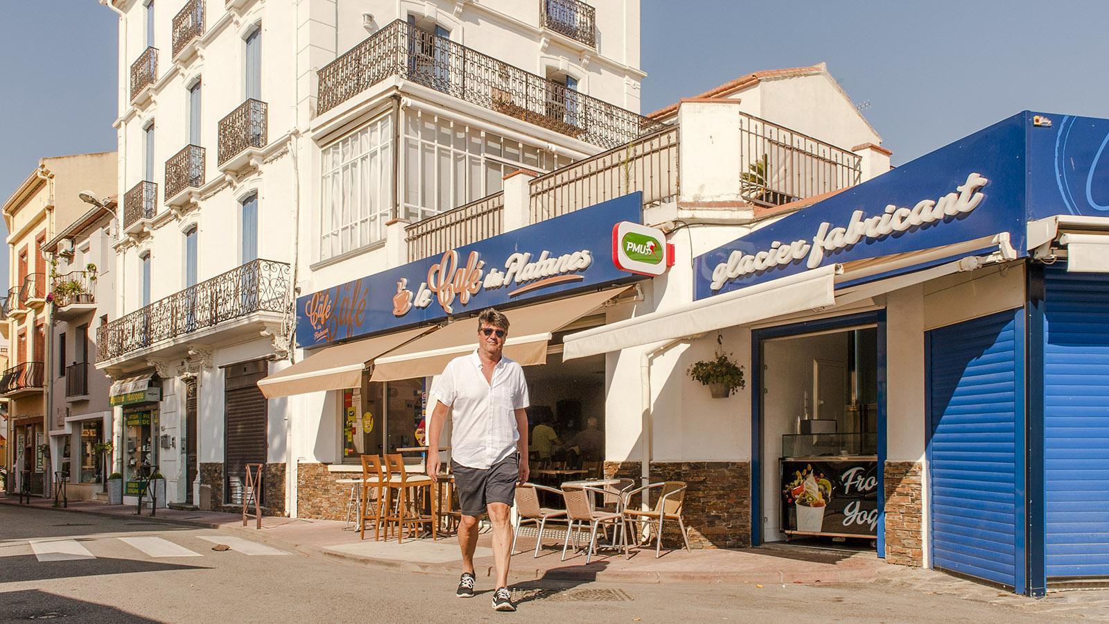 Banyuls: Café Perez. Foto: Hilke Maunder