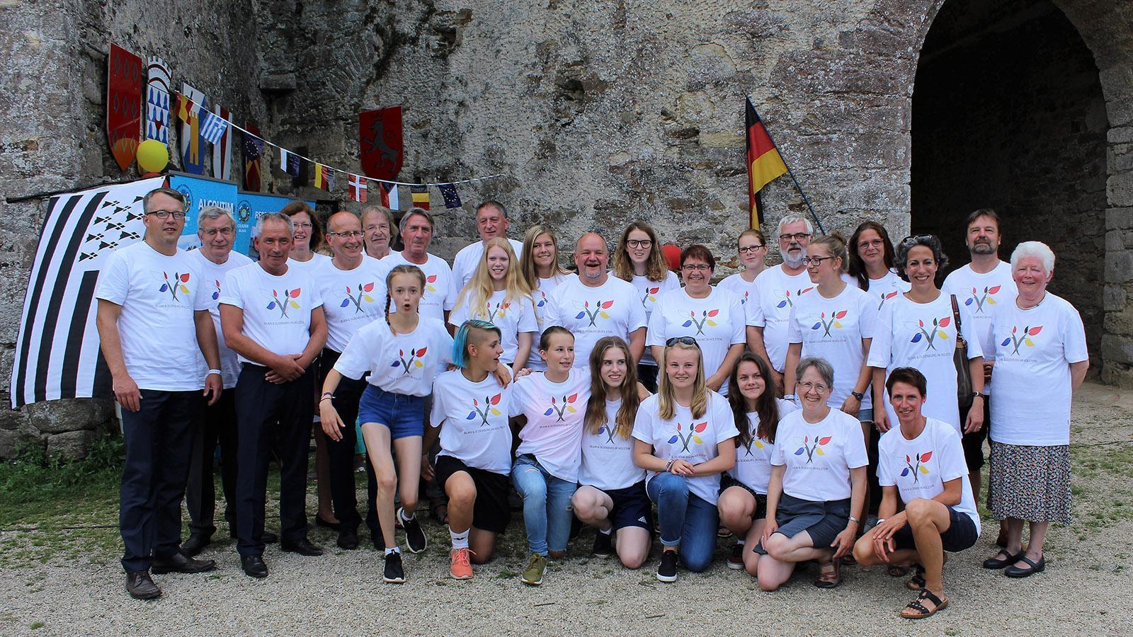Die Sportler*innen des OSV in Blain. Foto: Stadt Oldenburg