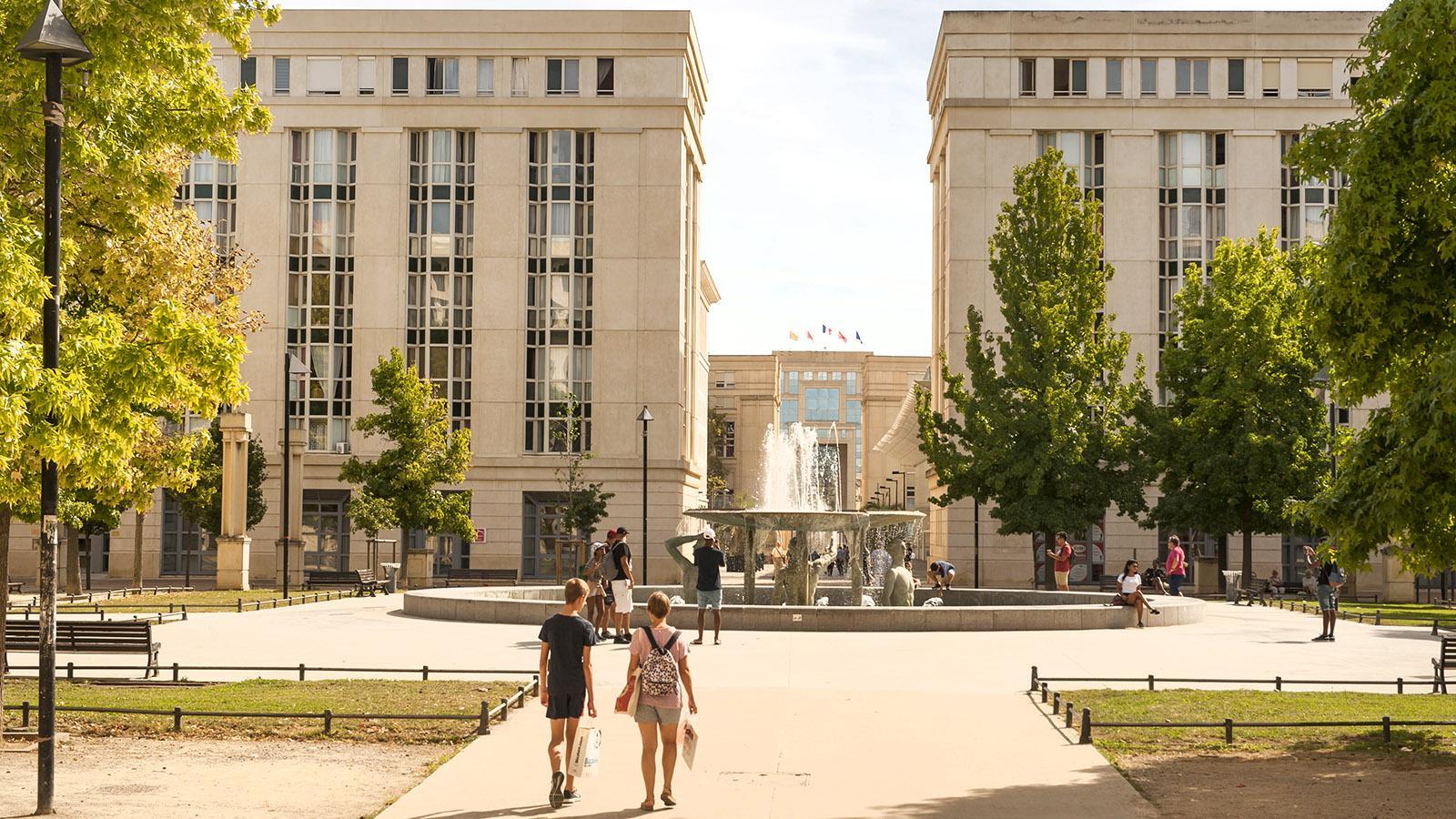 Im Antigone-Viertel von Montpellier. Foto: Hilke Maunder