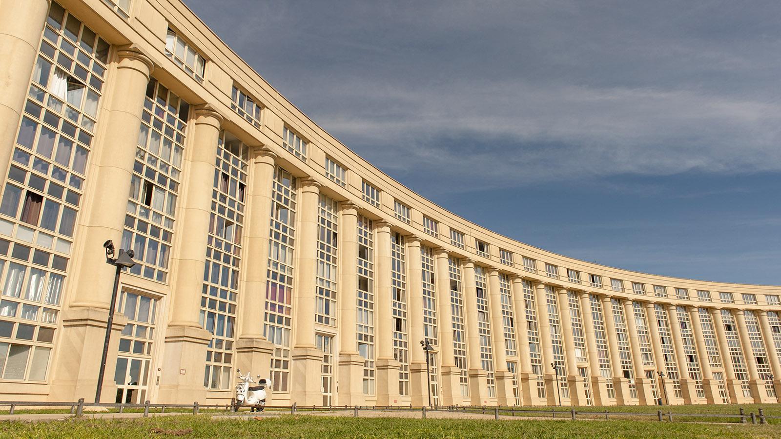 Montpellier: Antigone. Foto: Hilke Maunder