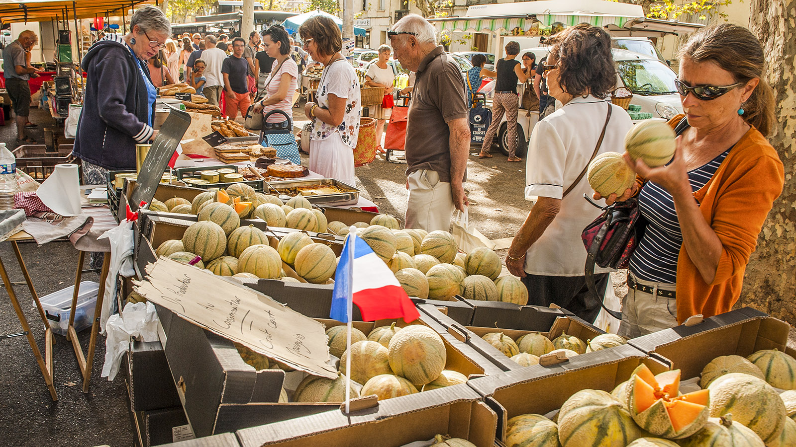 Montpellier: Arceaux-Markt. Foto: Hilke Mander