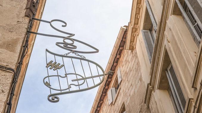 Im Geigenbauerviertel von Montpellier. Foto: Hilke Maunder