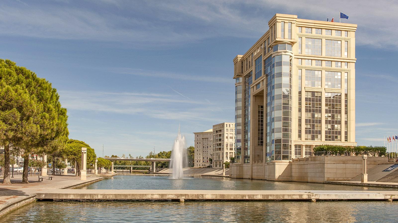 Das neue Montpellier am Lez. Foto: Hilke Maunder