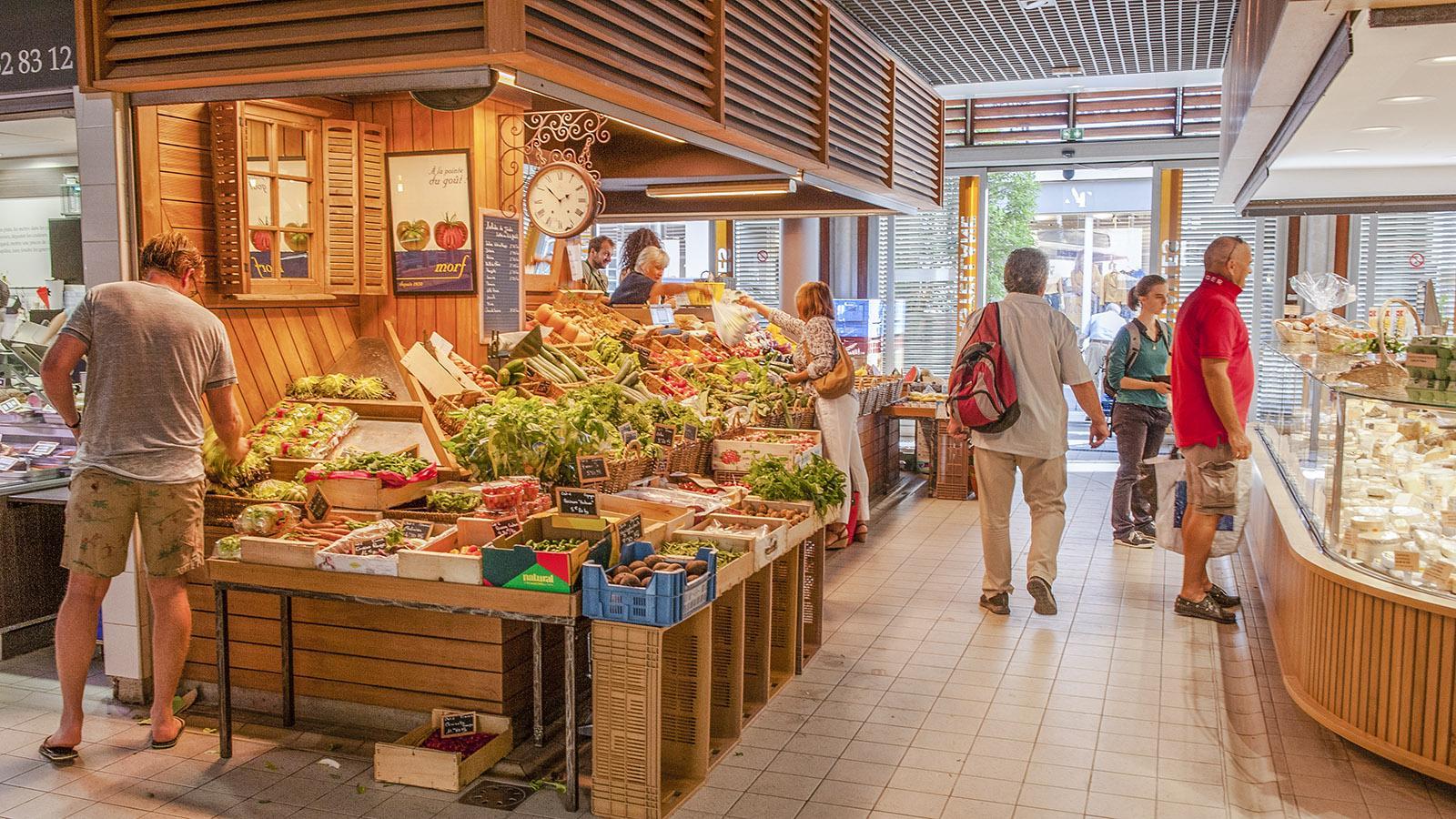 Montpellier: In der Markthalle von Castellane. Foto: Hilke Maunder