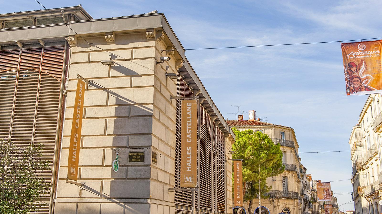 Montpellier: Die Markthalle von Castellane. Foto: Hilke Maunder