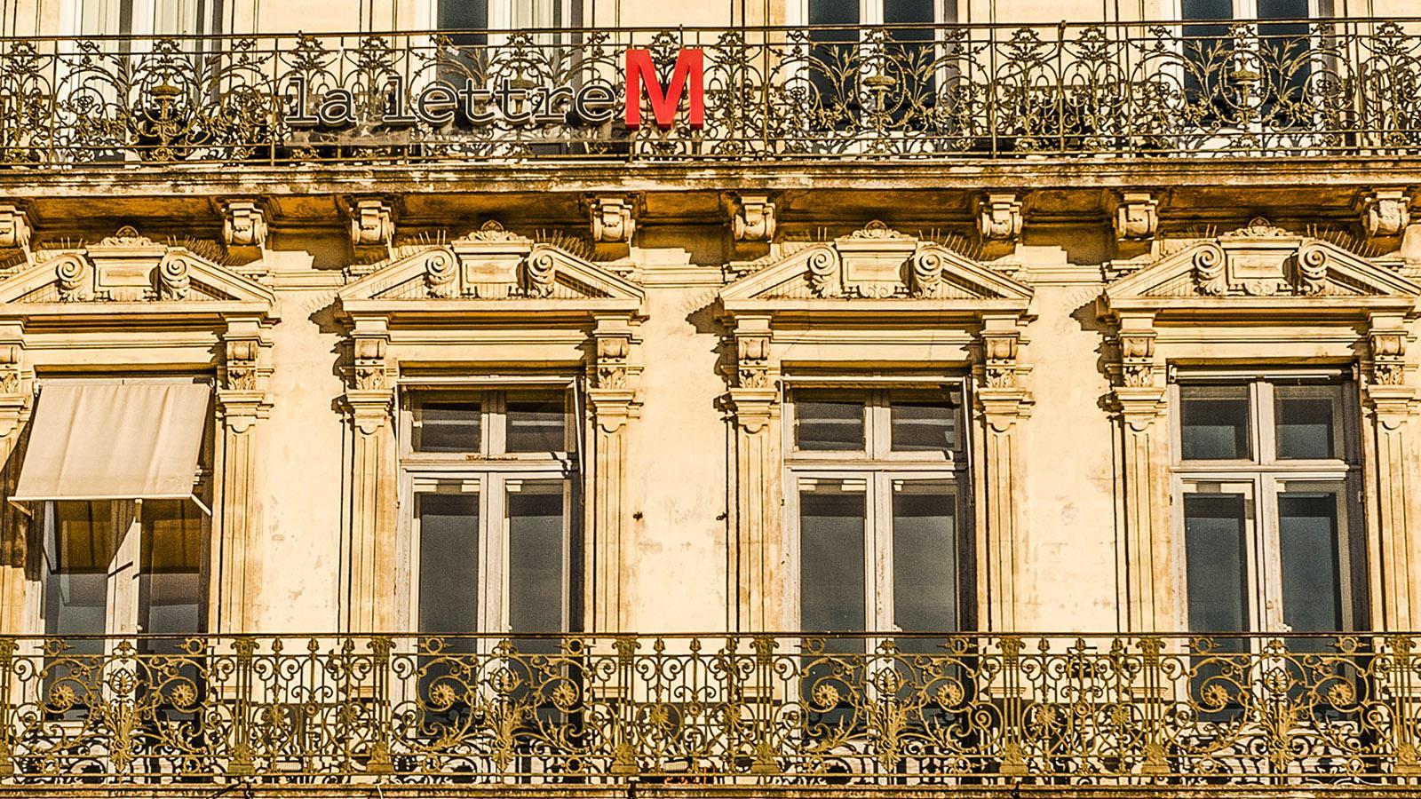 Montpellier. Place de la Comédie. Foto: Hilke Mander
