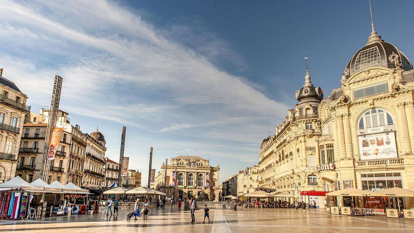 Montpllier: Place de la Comédie. Foto: Hilke Maunder