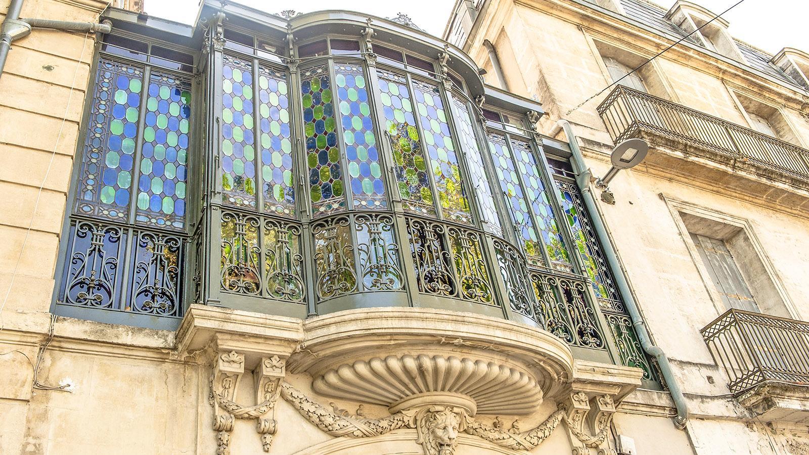 Montpellier: Stadtpalais gegenüber des botanischen Gartens. Foto: Hilke Maunder