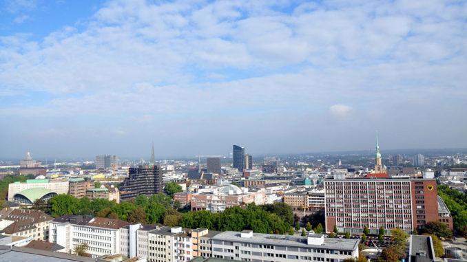Dortmund von oben. Foto: Stefanie Kleemann, Dortmund-Agentur, Stadt Dortmund