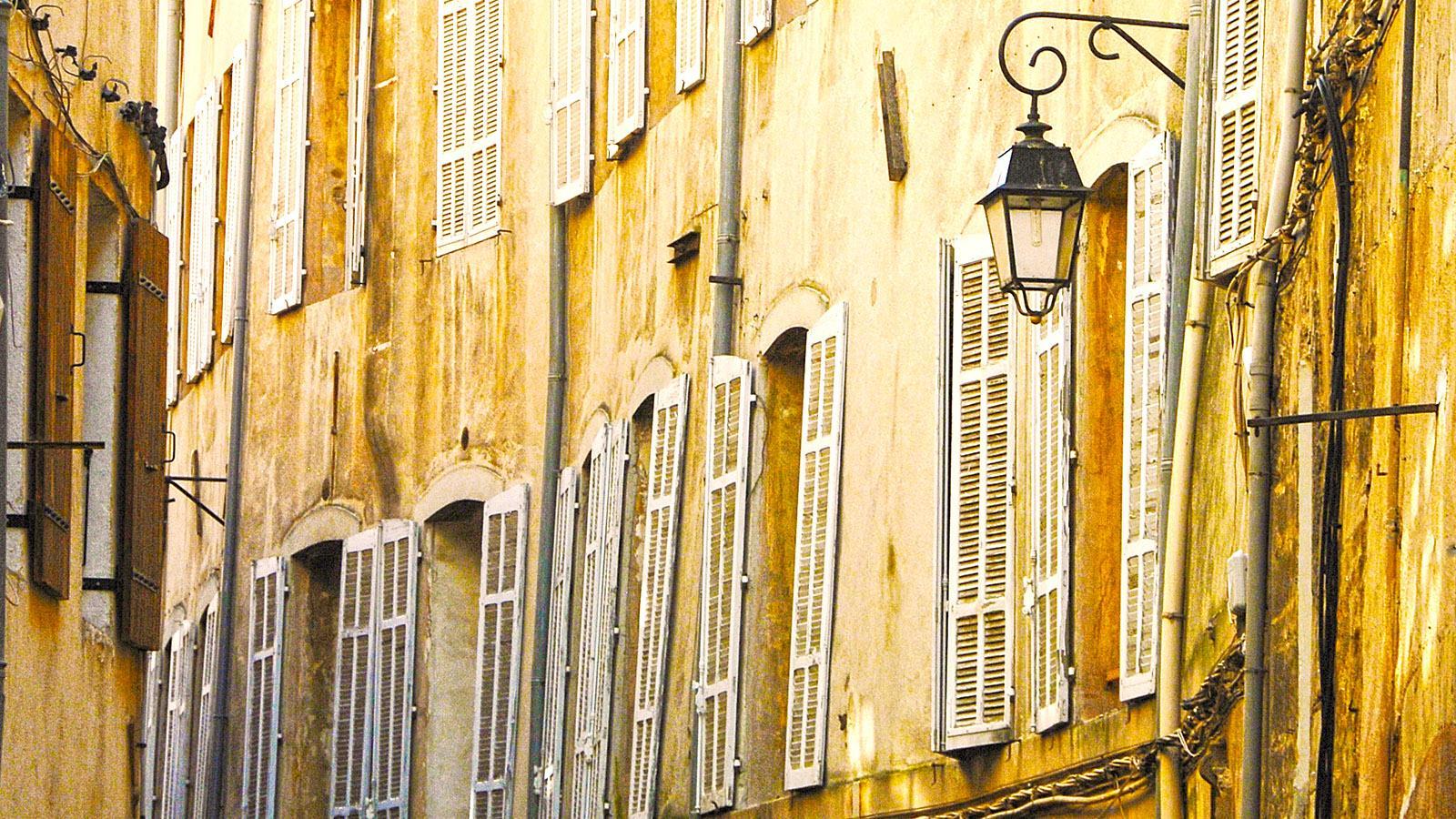 Aix-en-Provence: Altstadtgasse. Foto: Hilke Maunder